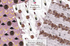 Spooky Gothic Theme Halloween Digital Patterns DP008 Product Image 2
