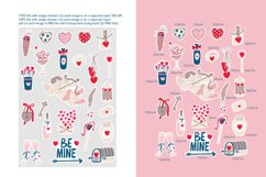 Valentine's Day stickers set Product Image 3