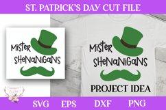 St. Patrick's Day SVG - Mister Shenanigans Product Image 1