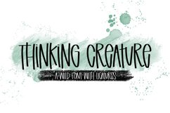 Thinking Creature - A Wild Font With Ligatures Product Image 1