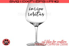 In Vino Veritas - In Wine there is Truth | SVG Cut File Product Image 1