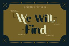 Easterwin   Classic Vintage Font Product Image 2