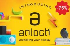 anlock - Typeface Product Image 1