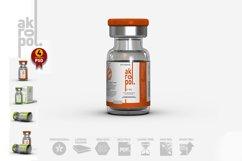 Vial Bottles Mock Up Product Image 2