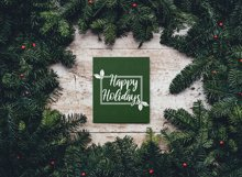 Happy Holidays - Cut File Product Image 4