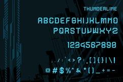 Thunderline Display Font Product Image 2