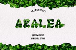 Azalea art font Product Image 1