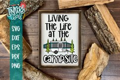 Living Life At the Campsite Pop Up SVG Product Image 1