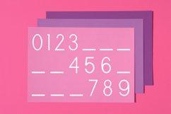 Cute Sans Serif Bullet Journal Font | Modern Scrapbooking Product Image 4