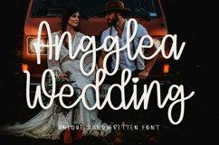 Angglea Wedding - Unique Handwritten Font Product Image 1