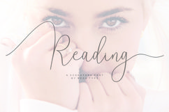 Reading Signatue Font Product Image 1