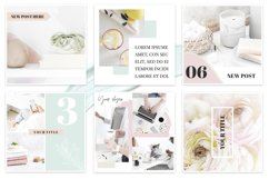 Canva Instagram Templates Pastel Product Image 2