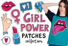 Girls patches and pins Product Image 1