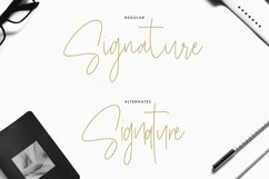 Masstro Signature Typeface Product Image 5