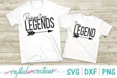Raising Tiny Legends and Tiny Legend SVG, DXF, PNG Product Image 1