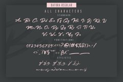Bafora - SVG Font Bonus Bondie Font Product Image 4