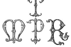 Victorian Alphabets Product Image 3