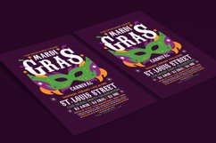 Mardi Gras Flyer Template Product Image 2