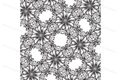 A collection of square hand-drawn patterns Product Image 4