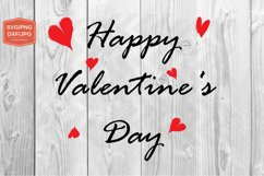 Valentine's Day svg, Heart Clip Art, Printing files Product Image 1