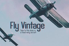 Airwings - Retro Narrow Sans Serif & Free Grunge Texture Product Image 6