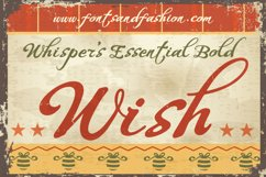 Whispers Calligraphy Essential_Bold Product Image 2