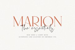 MARION & The Essentials Product Image 1