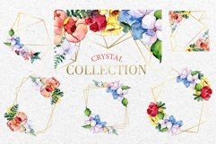 Bouquet touching feelings Watercolor png Product Image 7