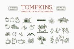 Tompkins a Vintage Slab Serif Font Product Image 6