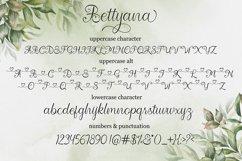 Bettyana Script Product Image 6