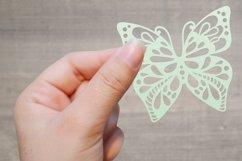 60 Butterfly SVG cut files - simple & split monogram Product Image 6