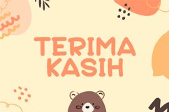 Bear Cuties - Cute Display Font Product Image 6