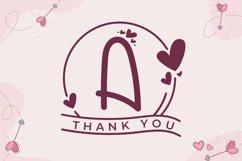 Monogram Handrawn Love Product Image 6
