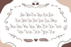 Couple Monogram Font & Wedding Ornament Product Image 6