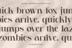 Zagora - Modern Font Product Image 5