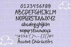One Crayon Playful Handbrushed Font Product Image 6