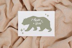 Mama bear svg, Mommy bear svg, Bear family svg, Mom life svg Product Image 3
