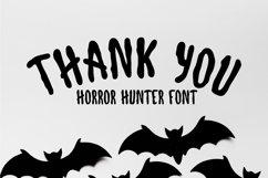 Horror Hunter- Horror Display Font Product Image 6