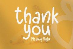 Pisangkeju - Playful Typeface Product Image 5