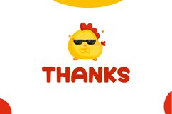 Cute Chicken - Cute Display Font Product Image 6