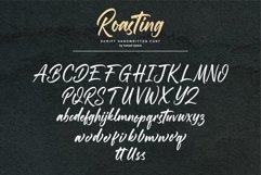 Roasting Script Handwritten Font Product Image 6