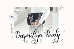 Emila Script Beauty Script Font Product Image 6