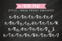 Blink Rose- A handwritten rose swashes font Product Image 6