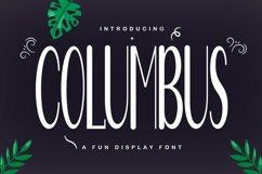 Columbus Product Image 1
