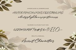 Galaksie Modern Calligraphy Font Product Image 6