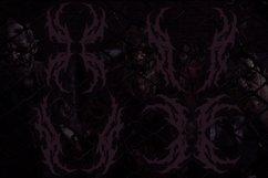 SUICIDE brutal death metal font #2 Product Image 6