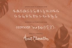 Sweetie Autumn Beautiful Calligraphy Font Product Image 6