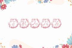Monogram Floral Font Product Image 6