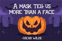 a Halloween Font
