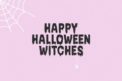 Bloodred / Spooky Halloween font Product Image 5
